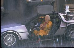 """""""Wait five more seconds.........Right on the tick. Amazing. Absolutely amazing. Too bad the post office isn't as efficient as the weather service."""" - Doc Brown, Back to the Future II"""