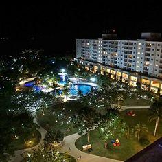 Jpark resort at night