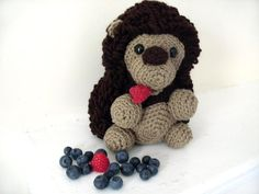 Amigurumi PATTERN: Crochet Hedgehog -pdf-