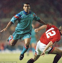 Romario's hat-trick in a 5-0 win against Real Madrid was one of the highlights…