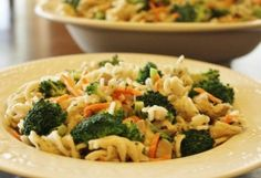 Lemon Pasta with Chicken and Broccoli recipe