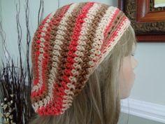 Isaac Mizrahi Yarn VERY Soft Cotton Slouch Tam Hat by yarnnscents