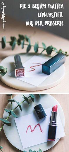 Die 5 besten matten #Lippenstifte aus der #Drogerie  #Beauty
