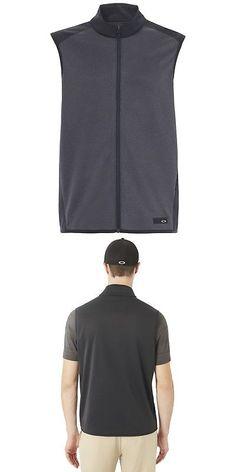 Other Mens Clothing 313  Oakley Golf Range Full Zip Vest - Blackout - Pick  Size! -  BUY IT NOW ONLY   37.95 on  eBay  other  clothing  oakley  range    ... 6dac68b897048