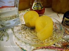 Greek Sweets, Honeydew, Dairy, Cheese, Fruit, Yummy Yummy, Cooking, Breakfast, Recipes