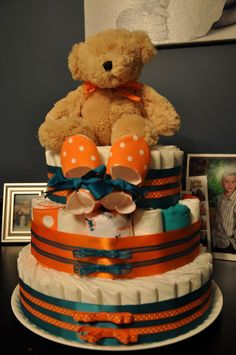 7 Best Aqua Blue And Orange Baby Shower Images Baby