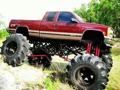 Lifted chevy, Chevy and Sweet Jacked Up Chevy, Lifted Chevy Trucks, Gm Trucks, Jeep Truck, Diesel Trucks, Cool Trucks, Cool Cars, Pickup Trucks, Muddy Trucks