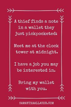 Interesting way to obtain the right help for a job. The Writer's Weekly Scribblings is an online family of fantasy writers. Join for FREE to get fantasy writing prompts sent straight to your inbox each week Book Prompts, Writing Prompts For Writers, Creative Writing Prompts, Dialogue Prompts, Book Writing Tips, Writing Quotes, Fantasy Writing Prompts, Writing Ideas, Creative Writing Inspiration