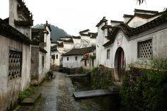 Xidi Village, Anhui, China