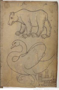 Villard de Honnecourt, Album de dessins et croquis.