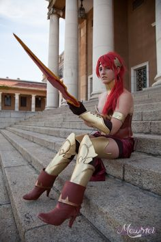 Pyrrha Nikos - Mia le Roux(mimzcosplay) Pyrrha Nikos Cosplay Photo - Cure WorldCosplay