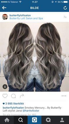 Grey ombre                                                                                                                                                                                 Más