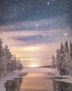 Merry Christmas And Happy Holidays ~ Lapland, Finland ~ Tiina Törmänen Photography Workshops, Landscape Photography, Nature Photography, Fantasy Landscape, Winter Landscape, Beautiful Dream, Beautiful World, Finland Travel, Winter Magic