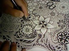 Doodle Flowers Explosion (Doodle Drawing 3)  [ http://www.youtube.com/watch?v=JpqoobimFPE&feature=youtube_gdata_player ]