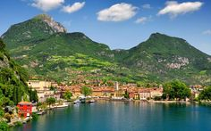 3. Lake Garda, Italy  Lake Garda in Italy is another of Europe's most beautiful lakes and a very well known destination in Italy. The distinct Italian architecture is evident everywhere you look, giving an immediate time warp appeal to those travellers who like to feel like they've stepped back in time (you can count me as one of those!)