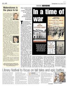 Review of Cumann na mBan and the Irish Revolution by Cal McCarthy Book Review, Revolution, Irish, Books, Life, Libros, Irish Language, Book, Ireland