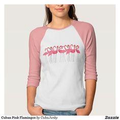 Cuban Pink Flamingos T-Shirt