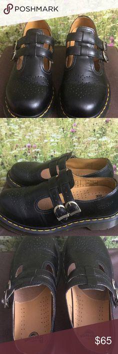 Doc Martens Black Mary Janes Like new, worn once, Black Mary Jane Doc Martens doc martens Shoes Flats & Loafers