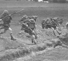 WWI. Kilted Scottish Regiment