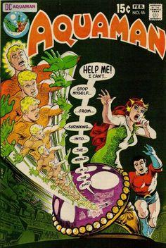 Aquaman by Nick Cardy Dc Comic Books, Vintage Comic Books, Comic Book Artists, Vintage Comics, Comic Book Covers, Comic Artist, Anton, Jordi Bernet, Silver Age Comics