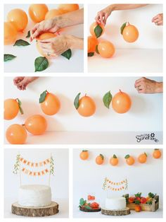 SWEET AS A PEACH Party Ideas - - SWEET AS A PEACH Party Ideas The Best of Avalon Sunshine Sweet as a Peach is the cutest new theme for baby showers or birthday parties. Cake topper, fresh peaches and balloon garland come together for simple party decor. Girl Birthday Themes, Girl First Birthday, First Birthday Parties, 23 Birthday, Baby Girl Shower Themes, Crafts For Birthday Parties, Baby Shower Balloon Ideas, 1st Birthday Party Ideas For Girls, 1st Birthday Girl Decorations
