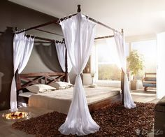 diy bedroom furniture diy canopy bed diy home. Black Bedroom Furniture Sets. Home Design Ideas