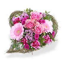 """Blumenstrauß """"Von Herzen"""" für die Liebste <3  #liebe #herzen #blumen #schenken"""
