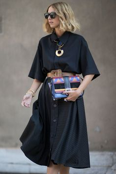 How To Wear A Shirt Dress Without Looking Like A Square | InStyle UK