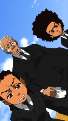 Riley and Huey x Bape Boondocks Boondocks, Boondocks