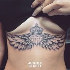 Image result for sternum tattoo underboob