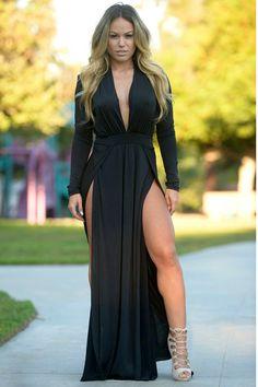 ae41e7dfa2e 10 Best High slit dress images
