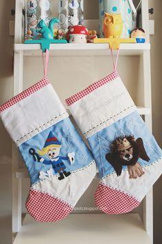 island of the misfits toys stockings DIY | Parrish Platz | dec 2015