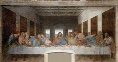 Leonardo, Il Cenacolo, ca 1495-97, tempera e olio su intonaco, Milano, Refettorio del Convento di Santa Maria delle Grazie   Pearltrees