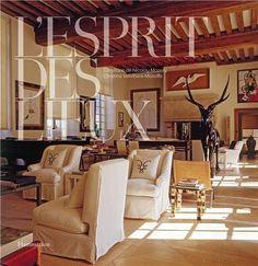 L'Esprit des Lieux : Elégance Française  Coffee Table Art Book // Gifts