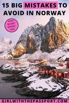Europe Travel Guide, Europe Destinations, Budget Travel, Norway Travel Guide, Best Travel Guides, Travel Money, Iceland Travel, Travel Advice, Travel Goals