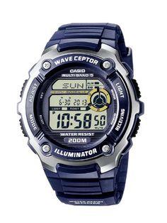 Casio Funkuhren Herren-Armbanduhr Digital Quarz WV-200E-2AVEF - http://uhr.haus/casio/casio-funkuhren-herren-armbanduhr-digital-quarz-6