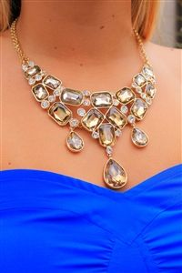 Clevelander Necklace #topaz #gorgeous #statement #necklace #accessorize