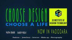 One Stop Career Destination in your own city, Vadodara @ JD Institute of Fashion. #jdfashioninstitute , #fashion , #interiordesign , #Vadodara