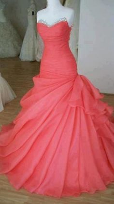 Gorgeous Ball Gown Sweetheart Sweep Train by LovelyDresses17... Good for receptions or maid of honor