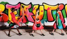 Paris Fashion Week, Graffit Dresses
