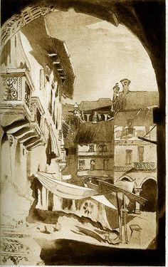 Vercelli 1846 by John Ruskin