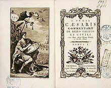 De bello Gallico – Wikipedia