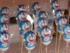 Doraemon Cake Pops