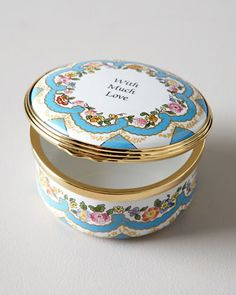 With Much Love Box by Halcyon Days Enamels at Horchow.