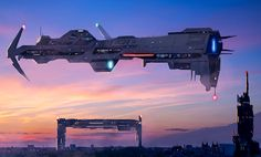 Spaceship Art, Spaceship Design, Futuristic Interior, Futuristic City, Stargate, Grand Admiral Thrawn, Robot Animal, Starship Concept, Sci Fi Spaceships