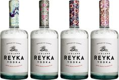Before & After:Reyka - The Dieline - The #1 Package Design Website -