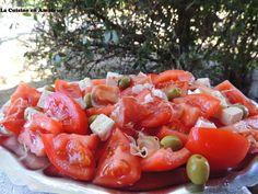 La cuisine en amateur de Maryline: Salade de tomates, jambon...