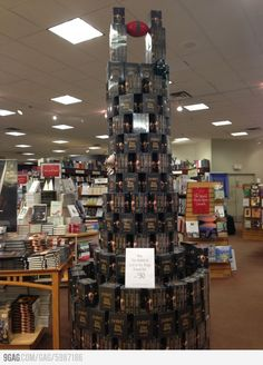 Awesome LOTR Book display !