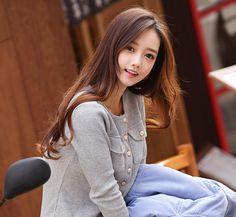 Pretty Korean Girls, Beautiful Asian Girls, Beautiful Women, Korean Beauty, Asian Beauty, Cute Girls, Cool Girl, Asian Cute, Good Looking Women