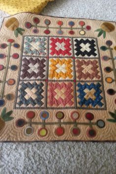 """http://www.pinterest.com/liahonagirl/quilts-and-stitchery/ Geoff's Mom: """"Welcome My Friends"""""""